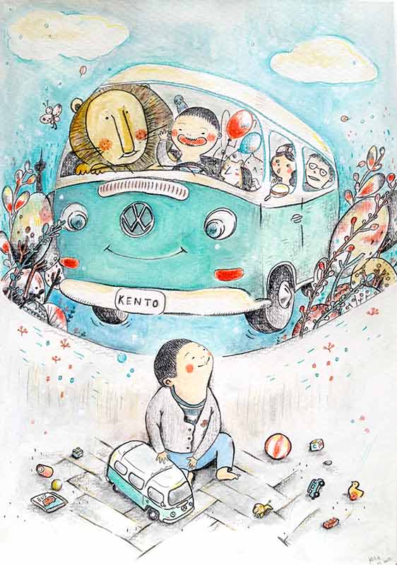 Lokokon children's book illustrator Berlin